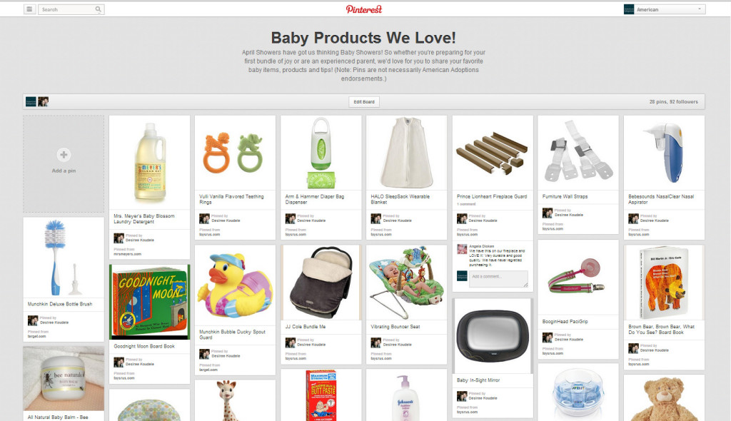 Baby Products We Love Pinterest