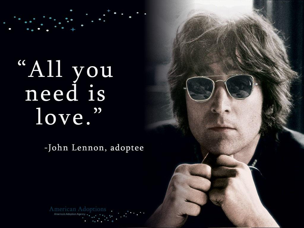John Lennon Adoption Quote American Adoptions Blog