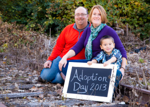 William's Adoption Day 2013