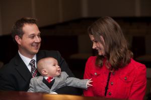 Kirk, Kristin and Benjamin - November 2014
