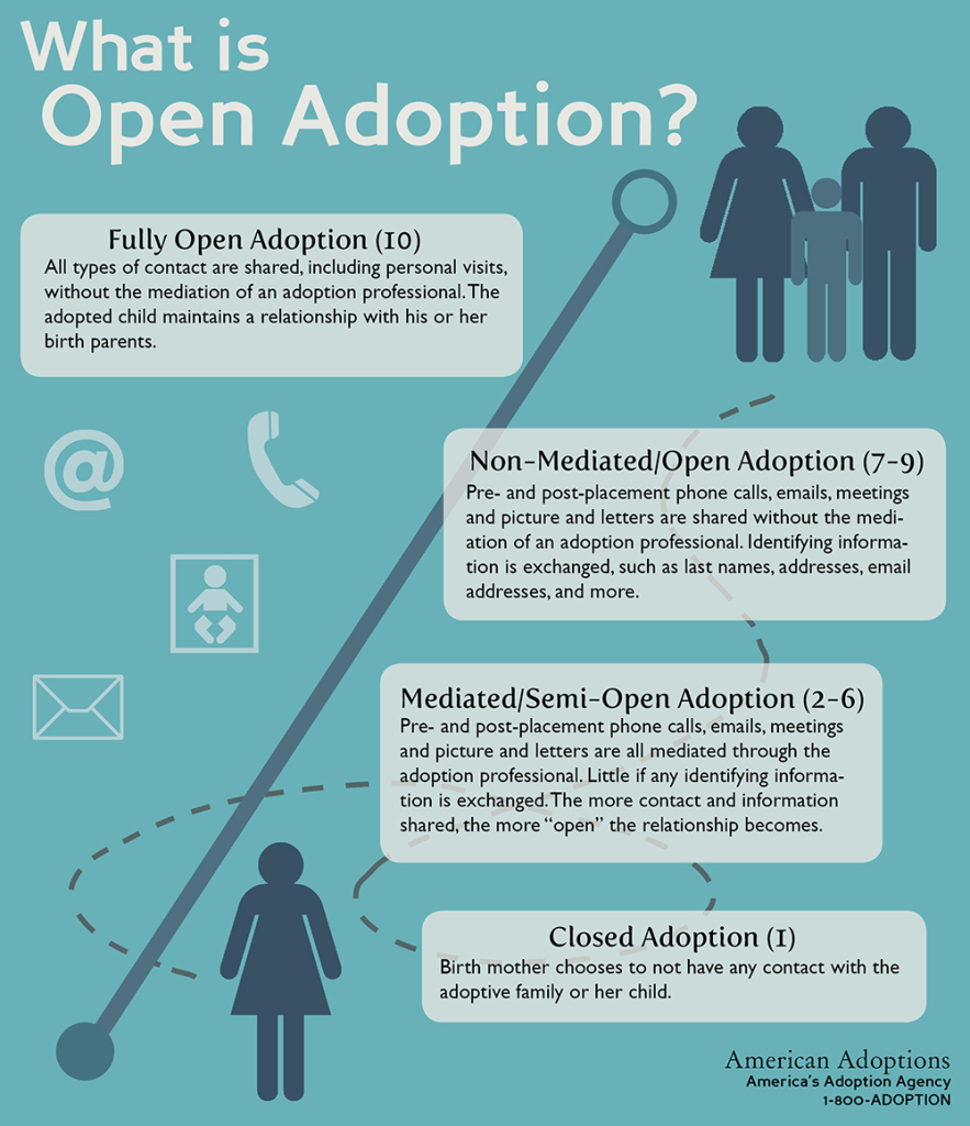 open vs closed adoptions With open adoption through foster care,  these relationships take a great deal of time (and effort) open foster care adoptions are not for the faint of heart.