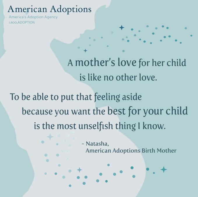 Birth Mother Quote Natasha American Adoptions Blog