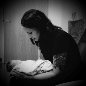 Emerson and Mama Carleigh, born 2016