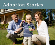 stories from families who have adopted through American Adoptions