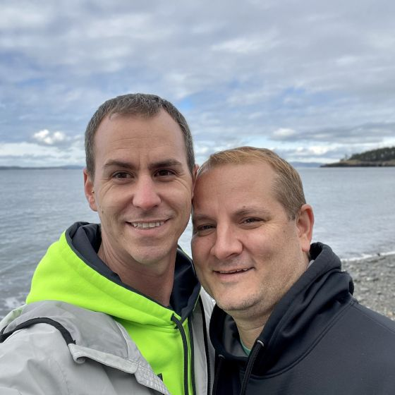 Adoptive Family - Michael & Jason