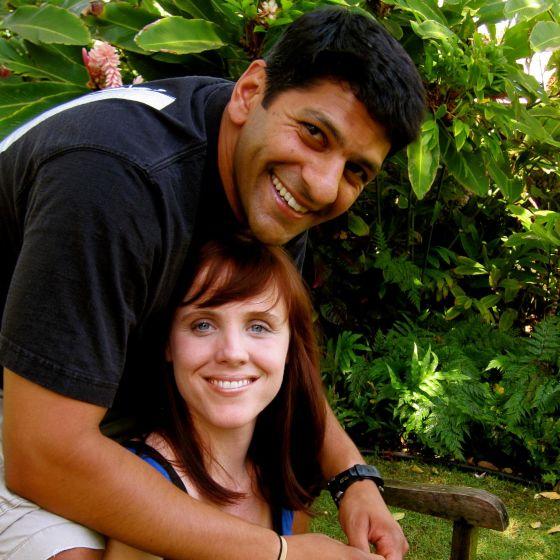 Adoptive Family - Mayur & Leigh