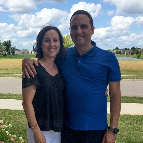 Adoptive Family - Patrick & Aldina