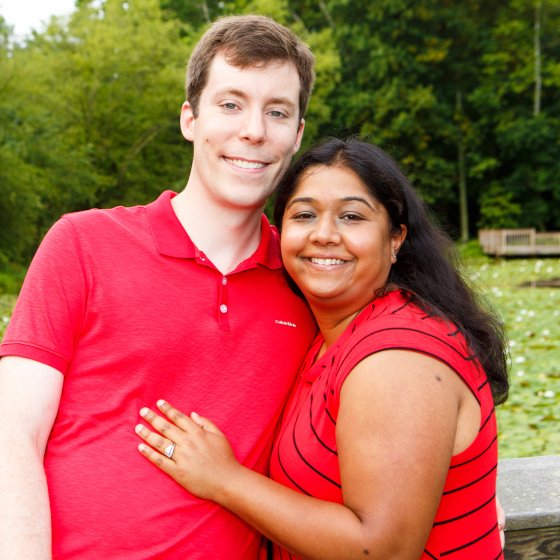 Adoptive Family - Chris & Amita
