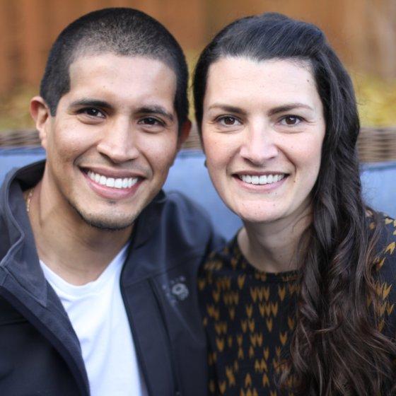 Adoptive Family - Mauricio & Christine