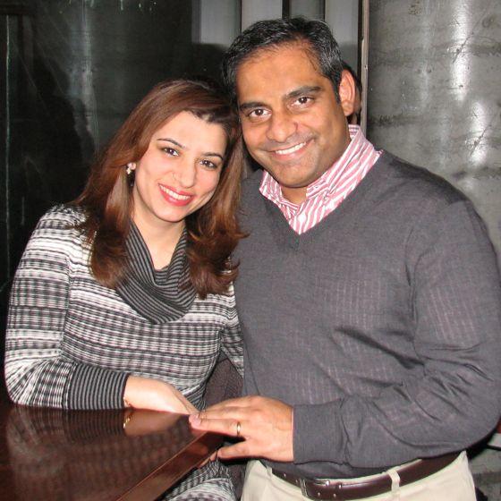Adoptive Family - Sanjay & Pooja