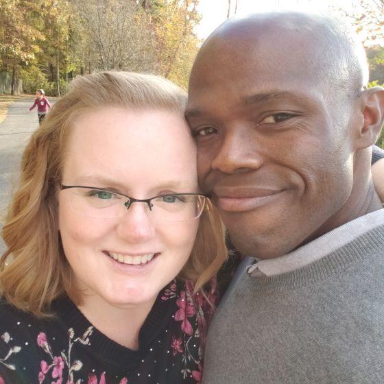 Adoptive Family - Malik  & Caitlin