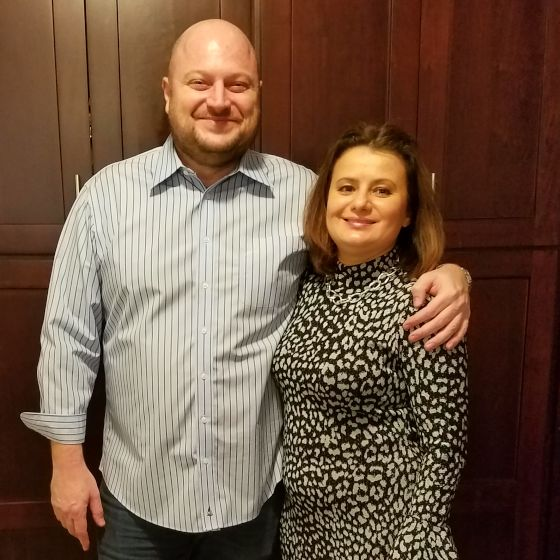 Adoptive Family - Greg & Luda