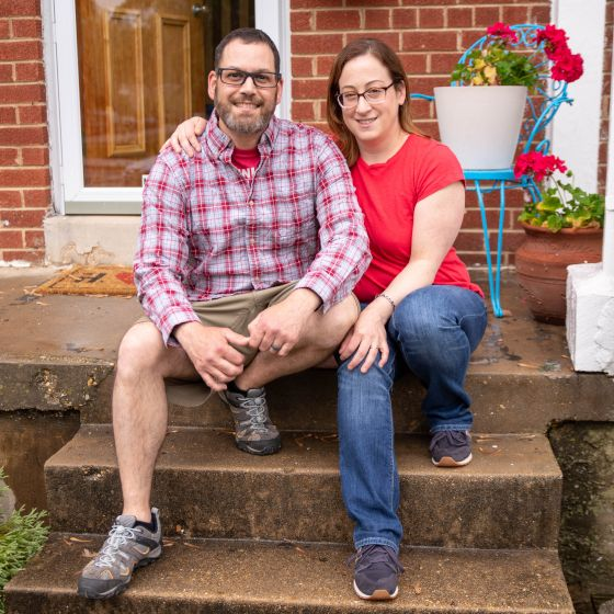 Adoptive Family - Pete & Lindsey