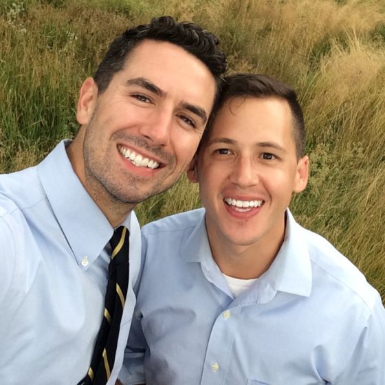 Adoptive Family - Brandon & Josh