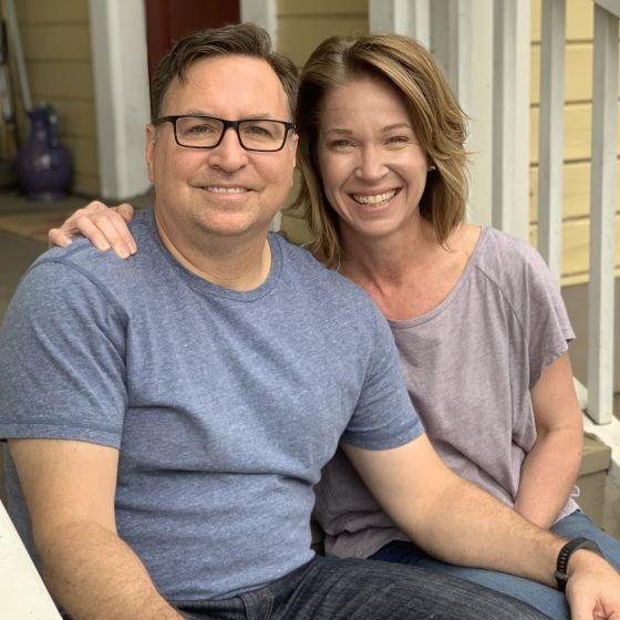 Adoptive Family - Rob & Heather