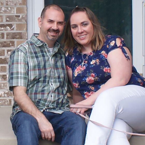 Adoptive Family - Steve & Christina