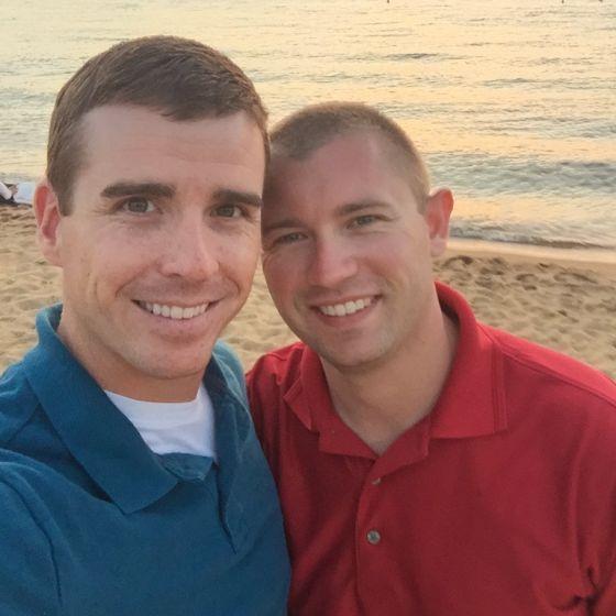 Adoptive Family - Chris & Alex
