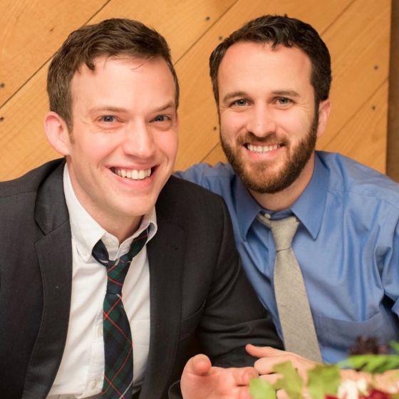 Adoptive Family - Stephen & John