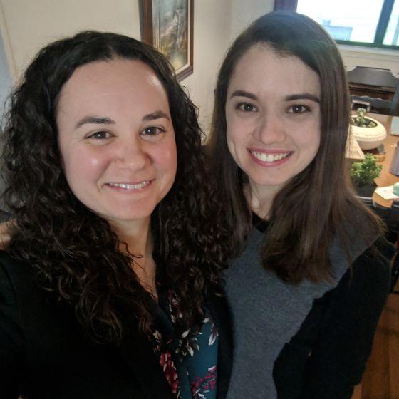 Adoptive Family - Rachael & Abby