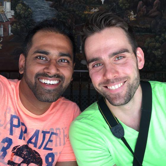 Adoptive Family - Amit & PJ