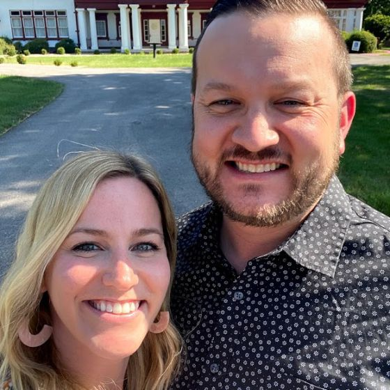 Adoptive Family - Davie & Courtney
