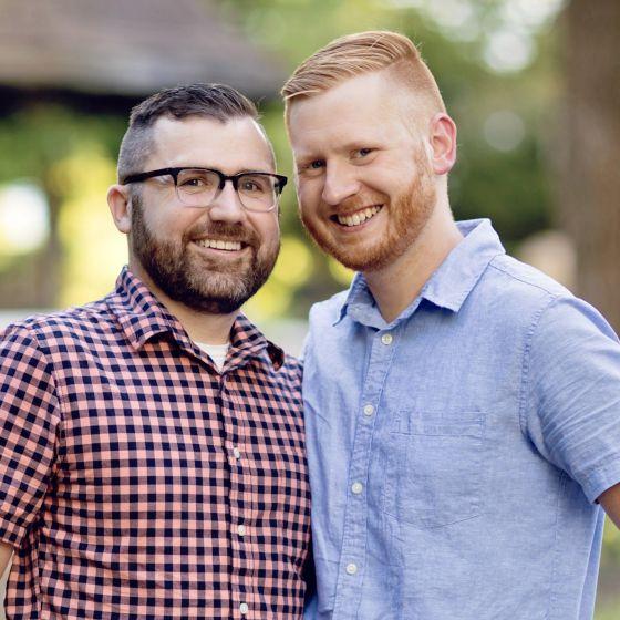 Adoptive Family - Curtis & David