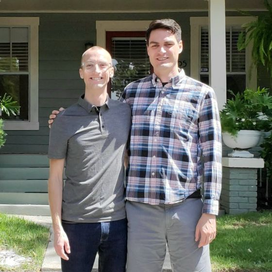 Adoptive Family - Steve & Jimmy