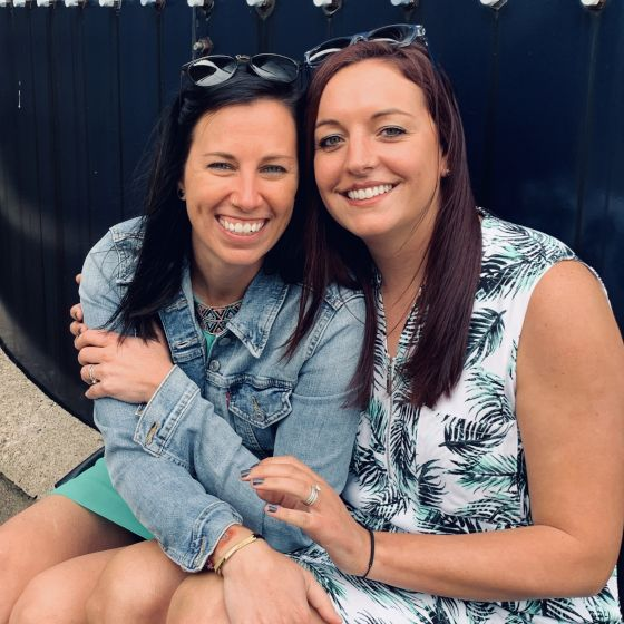 Adoptive Family - Meredith & Katie