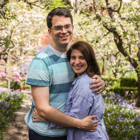 Adoptive Family - Benj & Meg