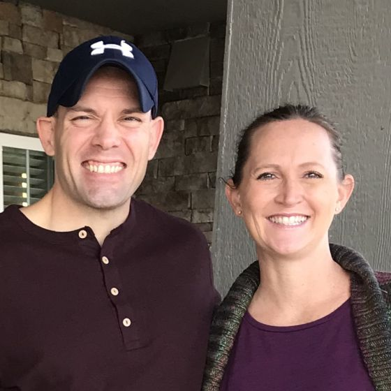 Adoptive Family - Joe & Ashley