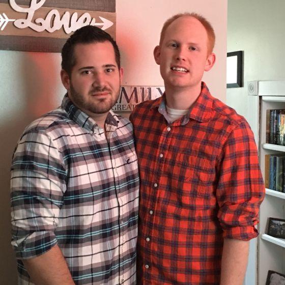 Adoptive Family - Bret & Shane