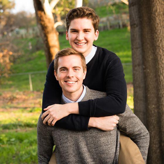 Adoptive Family - Jordan & Andrew