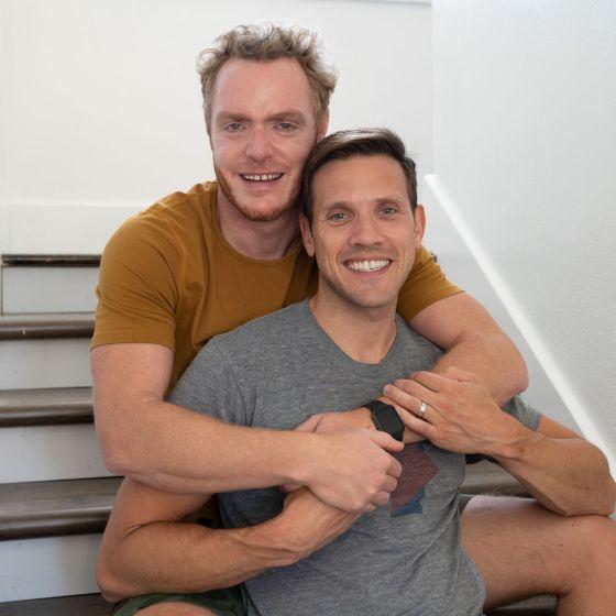 Adoptive Family - Joshua & Johnathan