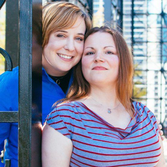 Adoptive Family - Shannon & Christina