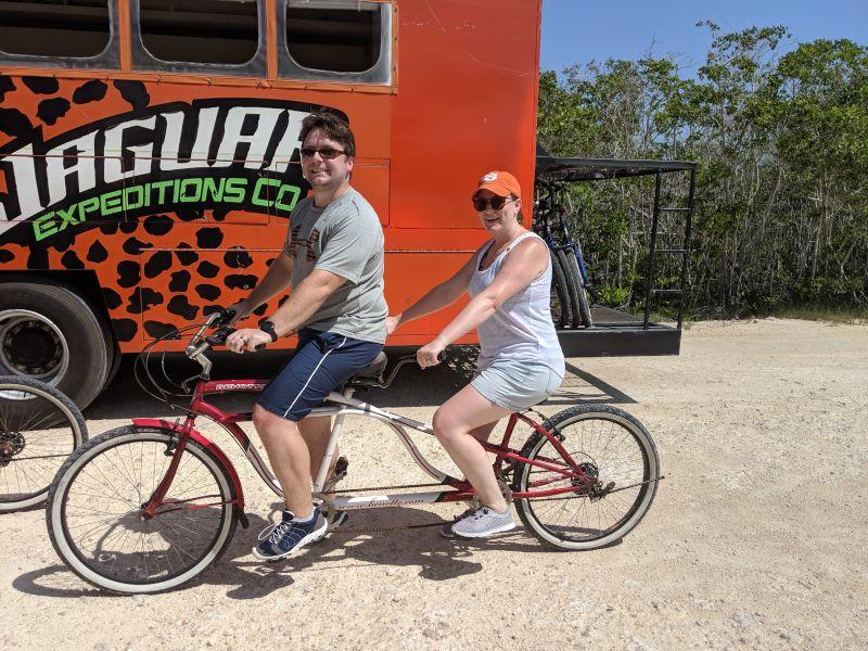 Tandem Biking in Mexico