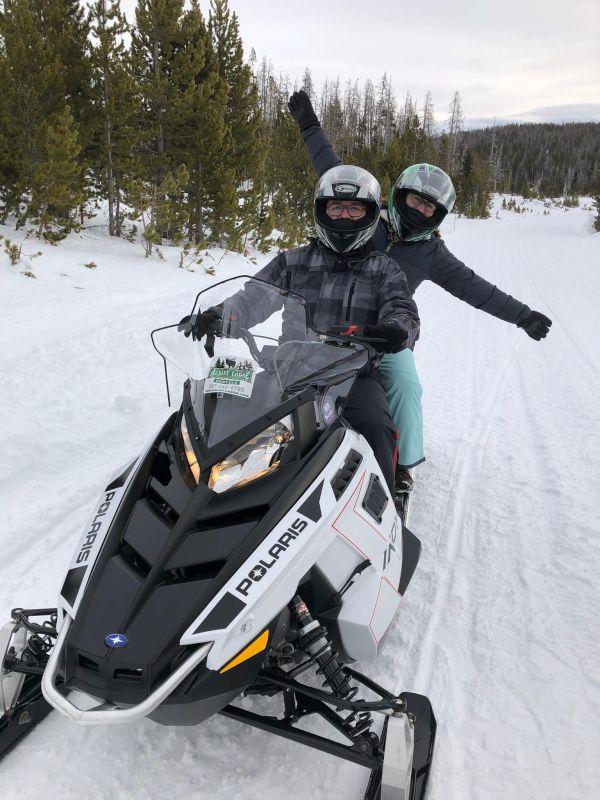 Snowmobile Fun