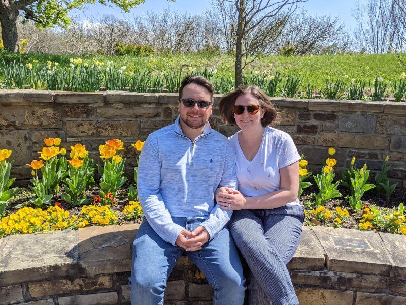 At the Botanical Gardens