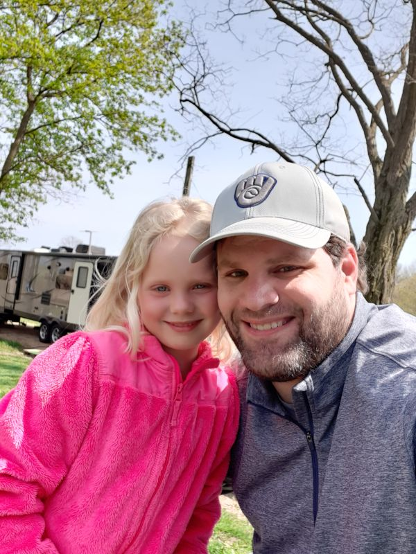 Camping With Our Niece