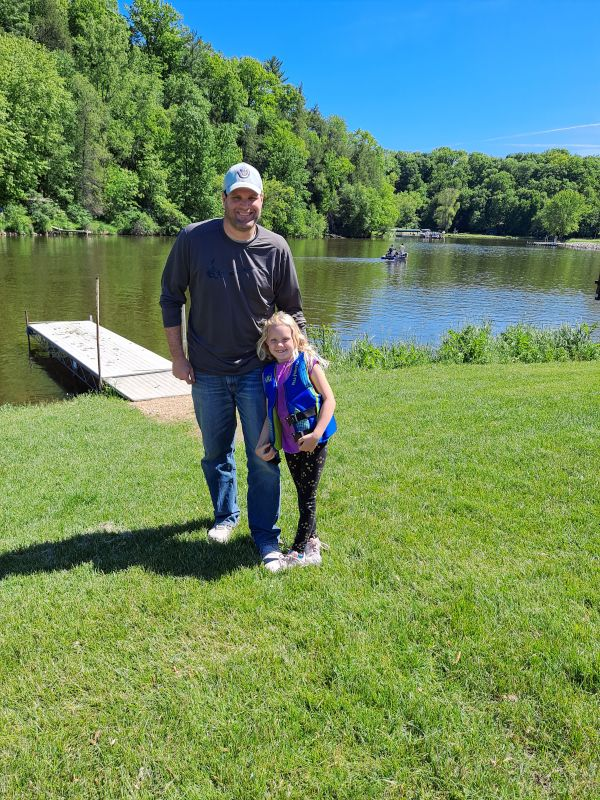 Scott Fishing With Our Niece