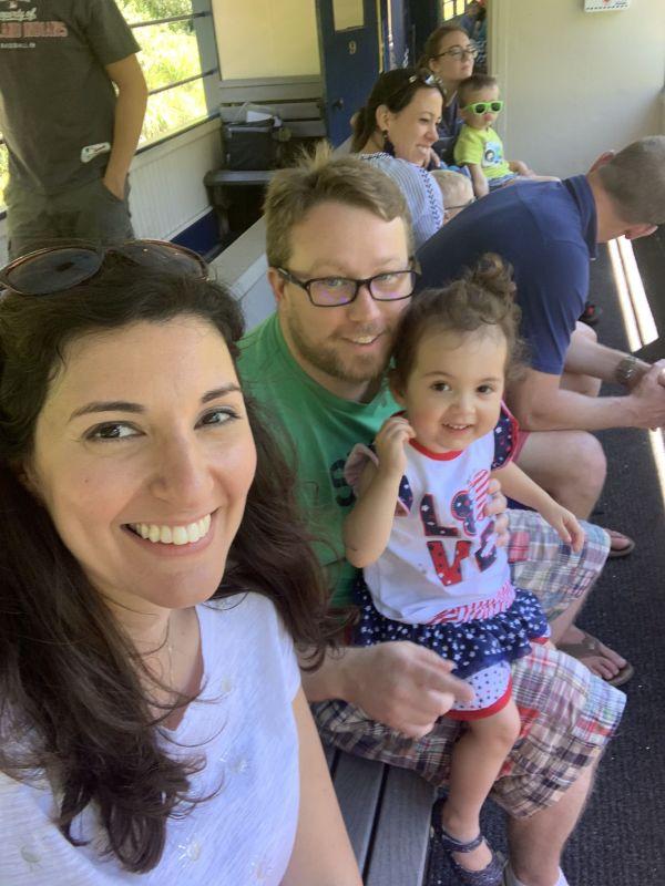 Vacation Train Ride