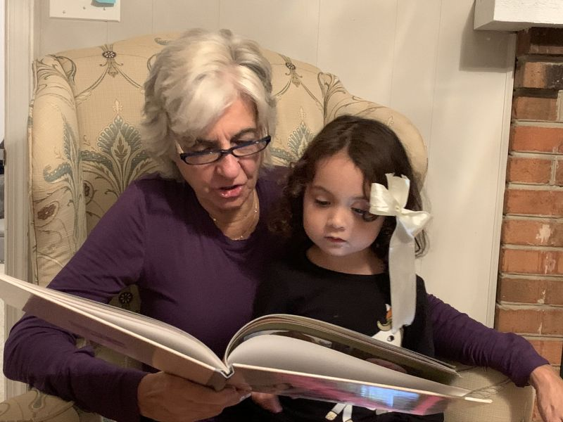 Reading Books With Mimi