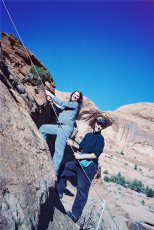 Adoptive Family Photo: Rock Climbing in Utah, click to view bigger version