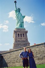 Adoptive Family Photo: Visiting New York City, click to view bigger version