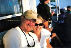 Adoptive Family Photo: Boating Fun on Vacation, click to view bigger version