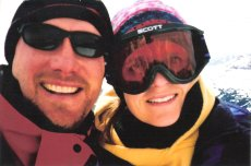 Adoptive Family Photo: Skiing, click to view bigger version