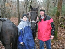 Adoptive Family Photo: Horseback Riding, click to view bigger version