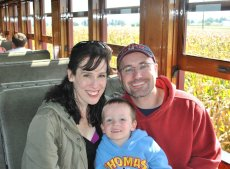 Adoptive Family Photo: A Trip on the Train, click to view bigger version