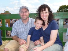 Adoptive Family Photo: Hayride, click to view bigger version