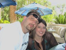 Adoptive Family Photo: Relaxing By the Pool in Vegas, click to view bigger version