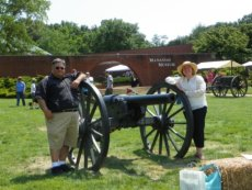 Adoptive Family Photo: At Manassas Battlefield, click to view bigger version